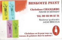 BEZKOITZPEINT Christiane CHAMARRO