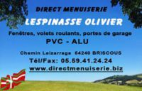 DIRECT MENUISERIE LESPINASSE Olivier
