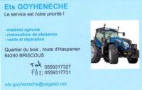 Ets Goyhenetche machines agricoles