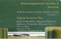 Virginie Gondouin-Pitre – accompagnement scolaire à domicile