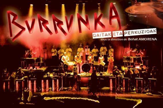 BURRUNKA en concert