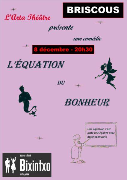 Théâtre «L'équation du bonheur»