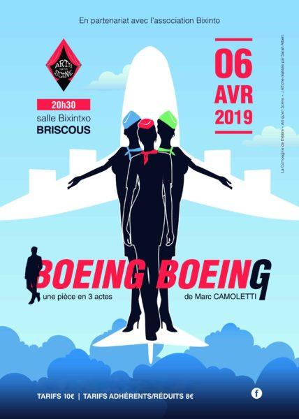 "Théâtre ""Boeing Boeing"