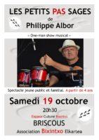 Philippe ALBOR: «Les petits pas sages»