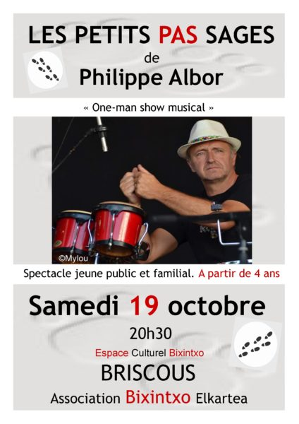 """Philippe ALBOR: """"Les petits pas sages"""""""