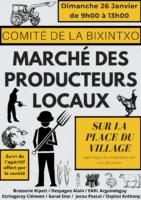 Marché des producteurs locaux